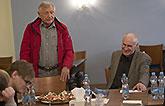 Jan Jankovský, Jiří Menzel a Martin Hilský, Mnoho povyku pro nic 2014, zdroj: © AGENTURA SCHOK, foto: Viktor Kronbauer