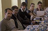 Jan Révai, Ctirad Götz, Václav Liška, Marie Štípková a Lenka Zahradnická,  Mnoho povyku pro nic 2014, zdroj: © AGENTURA SCHOK, ...