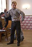 Petr Čtvrtníček a krejčí Aleš Frýba, Mnoho povyku pro nic 2014, zdroj: © AGENTURA SCHOK, foto: Viktor Kronbauer