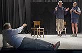 Jiří Menzel, Daniel Rous a Pavel Nový, Mnoho povyku pro nic 2014, zdroj: © AGENTURA SCHOK, foto: Viktor Kronbauer