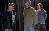 Petr Čtvrtníček, Martin Kubačák a Leoš Noha, Mnoho povyku pro nic 2014, zdroj: © AGENTURA SCHOK, foto: Viktor Kronbauer