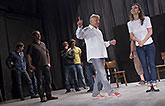 Zleva Radúz Mácha, Ctirad Götz, Jan Révai, Václav Liška, Jiří Menzel a Petra Horváthová, Mnoho povyku pro nic 2014, zdroj: © AGENTURA ...