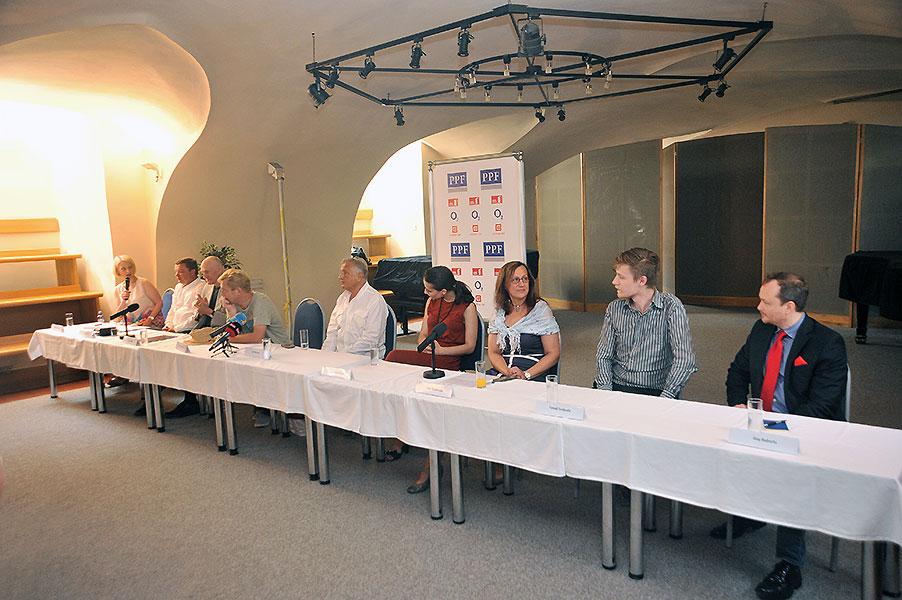 Tisková konference LSS 2014