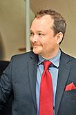 Guy Roberts (Prague Shakespeare Company), Tisková konference LSS 2014, foto: Dušan Prouza
