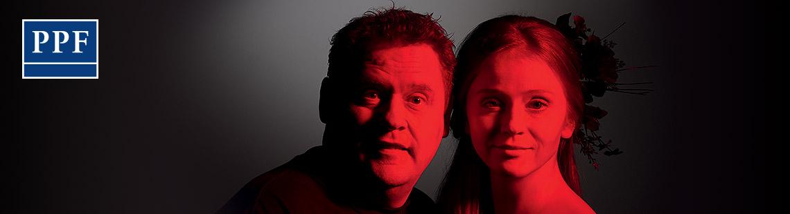 Václav Kopta a Marie Doležalová - Večer tříkrálový aneb Cokoli chcete 2016, zdroj: © AGENTURA SCHOK, foto: Pavel Mára