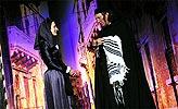Kupec benátský, Anna Polívková (Jessika) a Bolek Polívka (Shylock), foto: Viktor Kronbauer, tel.: 603 473 507, zdroj: © AGENTURA SCHOK