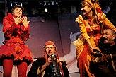 Večer tříkrálový, David Švehlík (Ondřej Třasořitka), Jiří Langmajer (Feste), Dana Sedláková (Marie), Oldřich Navrátil (Tobiáš Říhal), foto: Viktor Kronbauer, tel.: 603 473 507, zdroj: © AGENTURA SCHOK