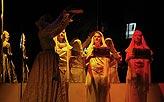 Kupec benátský, výstup se zpěvem, tancem a třemi skříňkami, foto: Viktor Kronbauer, tel.: 603 473 507, zdroj: © AGENTURA SCHOK