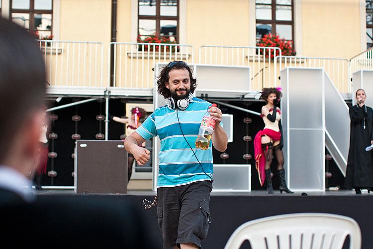 Marián Čekovský (autor hudby) - Oko za oko - niečo za niečo, foto: Peter Frollo, zdroj: © Agentúra JAY Production