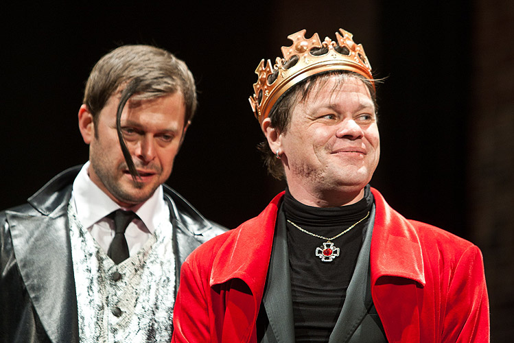 Alexander Bárta (Vévoda z Buckinghamu), Robert Roth (Richard), foto: Peter Frolo, zdroj: (c) Agentúra JAY Production s.r.o.