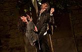 Jana Stryková (Kateřina), Roman Zach (Petruchio), Zkrocení zlé ženy 2011, zdroj: © AGENTURA SCHOK, foto: Viktor Kronbauer