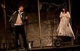 Roman Zach (Petruchio), Jana Stryková (Kateřina), Zkrocení zlé ženy 2011, zdroj: © AGENTURA SCHOK, foto: Viktor Kronbauer