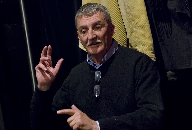 Režisér Martin Huba na zkoušce hry Richard III., foto: Viktor Kronbauer, zdroj: © AGENTURA SCHOK