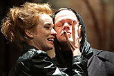 Táňa Pauhofová (Lady Anna), Robert Roth (Richard III.), zdroj: © Agentúra JAY Production, foto: Peter Frolo