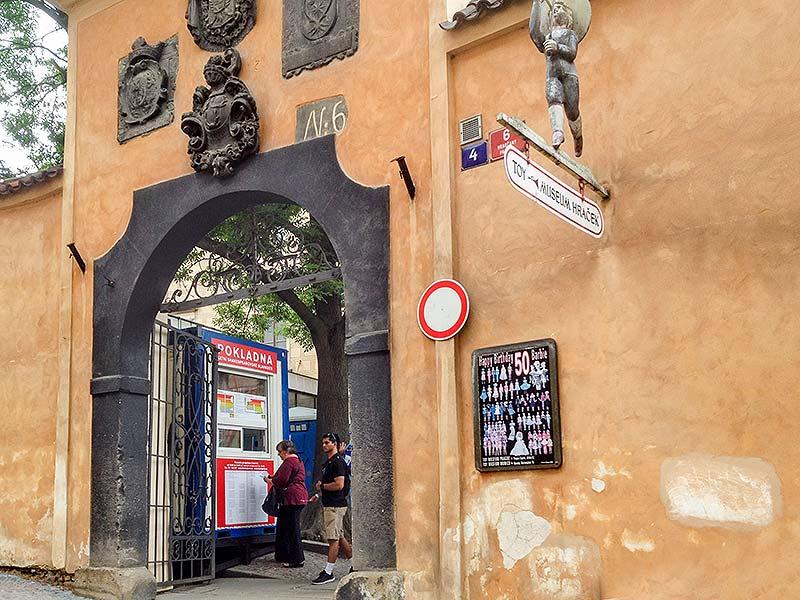 Pokladna Pražský hrad – Nejvyšší purkrabství