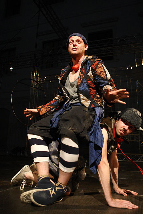 Ľuboš Kostelný (Podpich), Dvaja páni z Verony, foto: Peter Frolo, zdroj: © Agentúra JAY Production