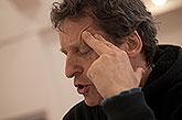 David Prachař (Theseus/Oberon), první čtená zkouška chystané premiéry Sen noci svatojánské, Praha, březen 2013, zdroj: © AGENTURA ...