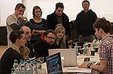 První čtená zkouška chystané premiéry Sen noci svatojánské, Praha, březen 2013, zdroj: © AGENTURA SCHOK, foto: Viktor Kronbauer