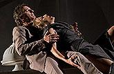 David Prachař (Theseus) a Vanda Hybnerová (Hippolyta), Sen noci svatojánské 2013, zdroj: © AGENTURA SCHOK, foto: Viktor Kronbauer