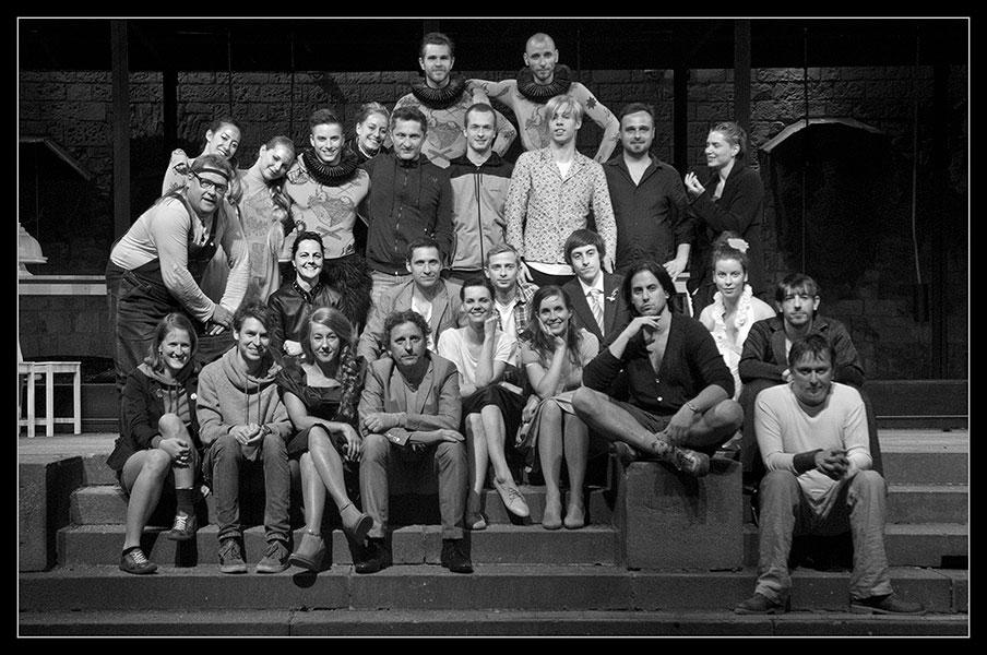Sen noci svatojánské 2013 – herci, tanečníci, výtvarníci a režiséři