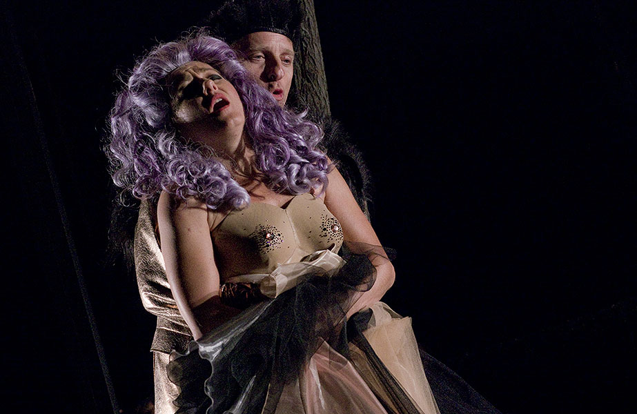 Vanda Hybnerová (Titanie) a David Prachař (Oberon), Sen noci svatojánské 2013
