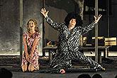 Tereza Vilišová (Bianca) a David Novotný (Hortensio), Zkrocení zlé ženy 2012, zdroj: © TIC města Brna, foto: Michal Růžička