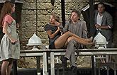 Hana Vagnerová (Hermie), Vanda Hybnerová (Hippolyta), David Prachař (Theseus) a Martin Písařík (Lysandr), Sen noci svatojánské 2013, ...