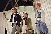 Jan Přeučil, Bolek Polívka a Richard Fiala, Veselé paničky windsorské 2013, zdroj: © AGENTURA SCHOK, foto: Roman Dobeš